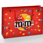 Produktbilder auf Papiertaschen