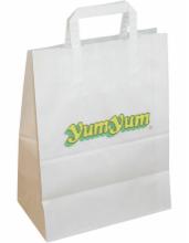 bedruckte Papiertaschen mit Henkel